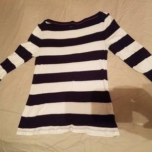 GAP 3/4 Sleeve boat neck t-shirt